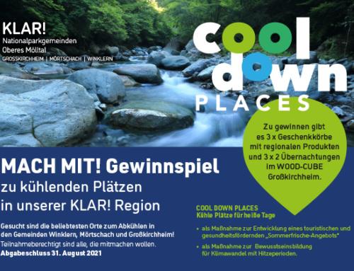 COOL-DOWN-PLACES – Gewinnspiel startet!